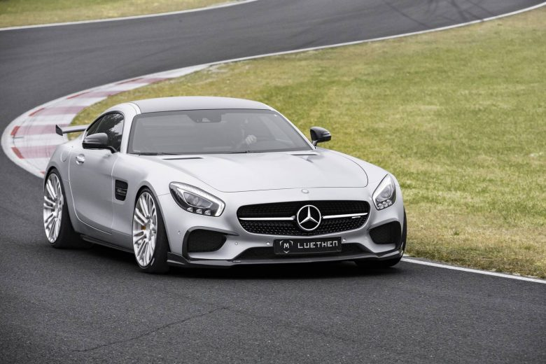 Mercedes-AMG GT Gets Power Kit from Luethen Motorsport