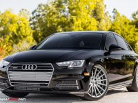 2017 Audi A4 Rides on Vossen Wheels, Looks Extremely Hot