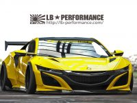 Acura NSX by Liberty Walk – Teasers Pop-Up Online