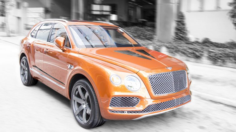 Video: Bentley Bentayga Feels More Powerful with the DMC`s New Kit