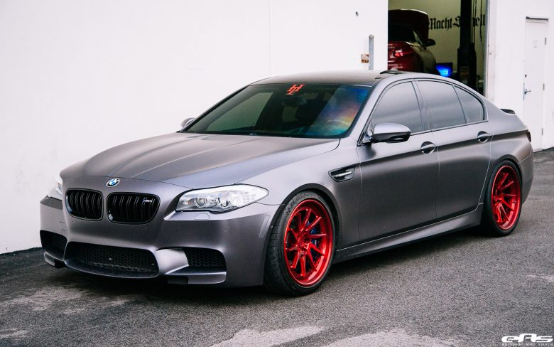 F10 BMW M5 with 3D Design Aero Kit, Installation by EAS