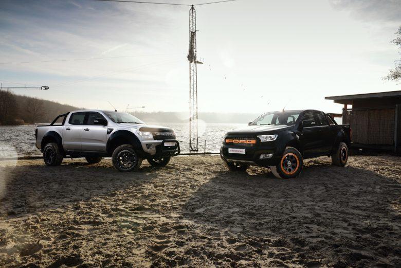 Ford Ranger Gets Upgraded by MR Car Design