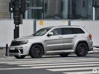 "Jeep Grand Cherokee SRT8 with ""Tyrannos"" Aero Kit by Maxi Customs"