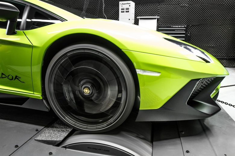Lamborghini Aventador by Mcchip-DKR Feels More Powerful