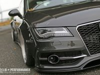 Audi A7 Gets Wide Aero Kit by Liberty Walk