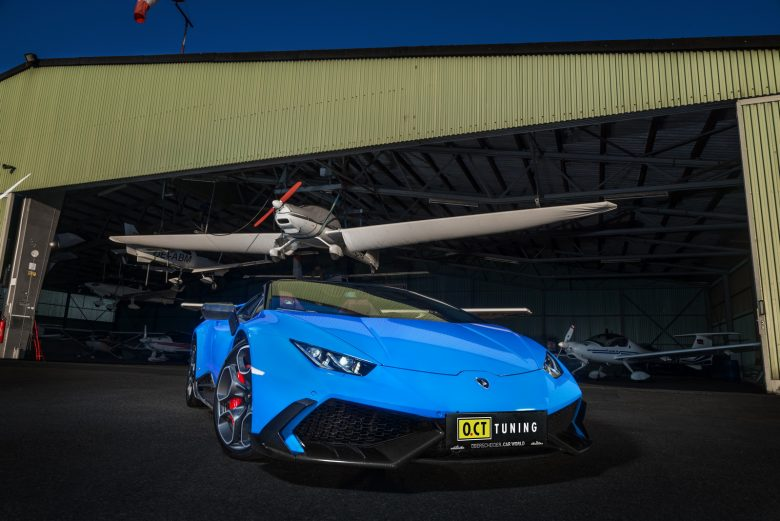 Lamborghini Huracan LP610-4 Spyder with Massive Power by O.CT Tuning