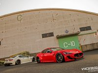 Maserati GranTurismo with Bragging Treatment from Liberty Walk