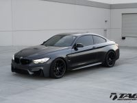 F82 BMW M4 in Mineral Grey Gets the One-Off HRE Wheels