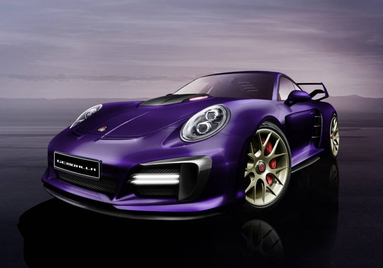 Porsche 911 Turbo S Avalanche by Gemballa Is a Real Kicker
