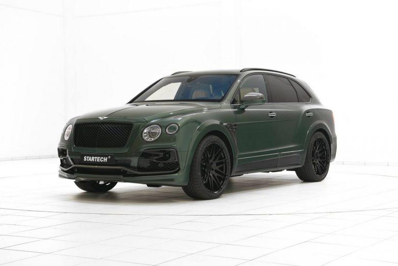 Verdan Green Bentley Bentayga SUV with Full Aero Package by Startech