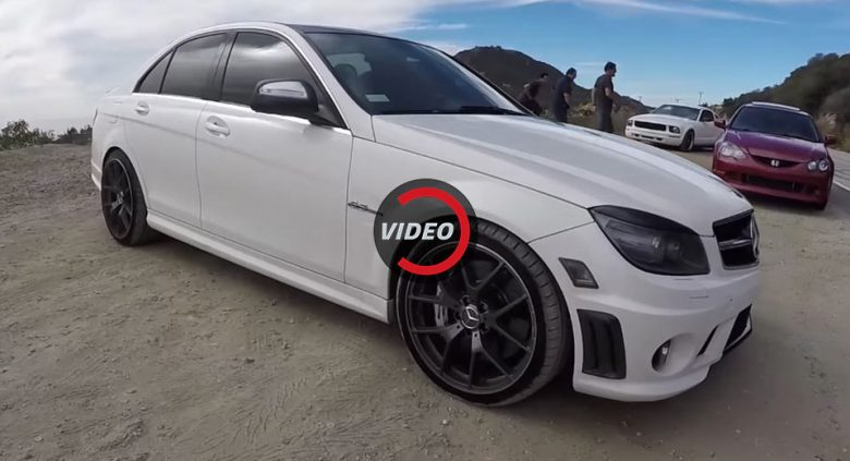 Video: This Is How You Should Treat Your 2009 Mercedes C63 AMG
