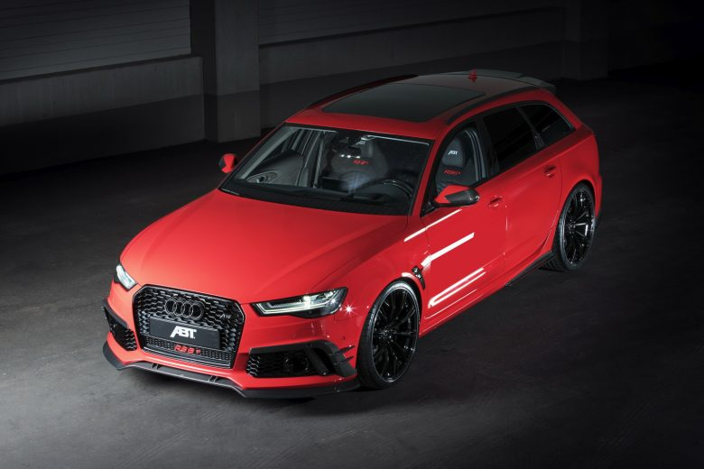 Audi RS+ by ABT Sportsline Shines All in Red