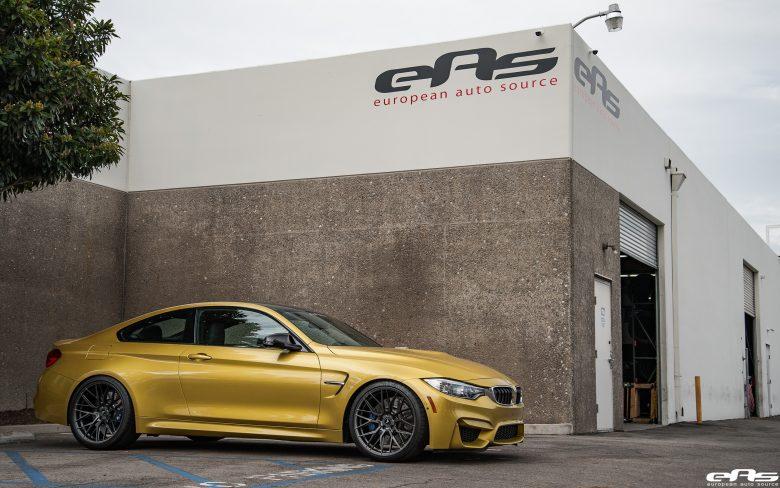 F82 BMW M4 Looks Sensational in Vorsteiner Wheels