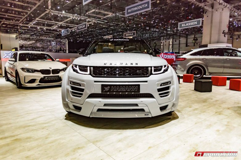 This Is Hamann`s New Range Rover Evoque Convertible Revealed in Geneva