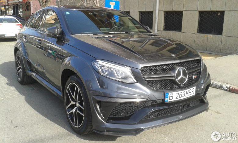 Mercedes-Benz GLE Coupe by Lumma Design Kicks Off in Romania