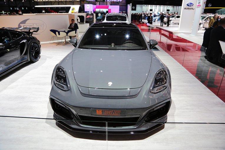 Porsche Panamera Turbo GrandGT by TechArt Looks Quite Insane
