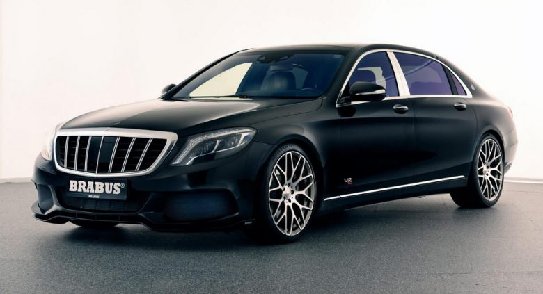 Mercedes-Maybach Rocket 900 by Brabus Looks Almighty, Feels Like Real King