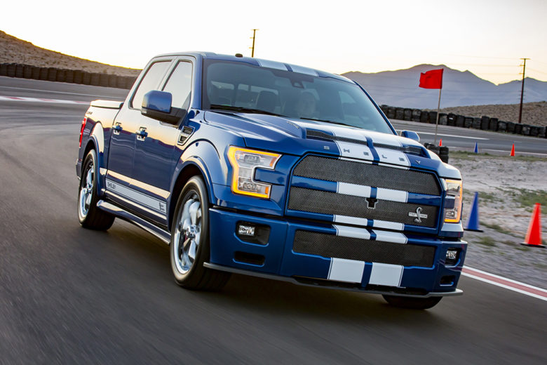 This Is Shelby`s Powerful 2017 Ford F-150 with Super Snake Package
