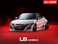 Honda S660 with Impressive Aero Kit by LB Performance