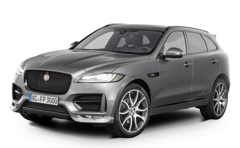 Video: Jaguar F-Pace with Aero Kit Courtesy of AC Schnitzer