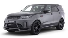 2017 Land Rover Discovery with New Aero Kit by Startech