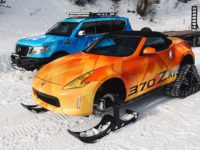 Nissan Creates Unique 370Z Snowmobile