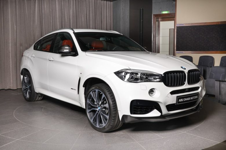 BMW X6 xDrive50i M Performance Shines in Abu Dhabi