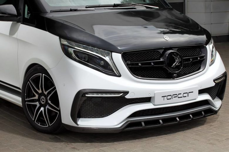 Mercedes-Benz V-Class 'Inferno' by TopCar