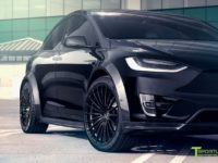 Tesla Model X P100D with 'T Largo' Aero Package by T Sportline