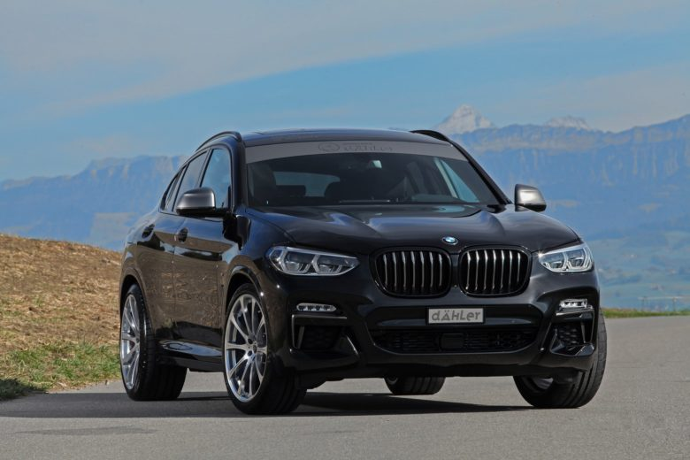 Dahler Enhances New BMW X4 with Power Kit and Aero Parts