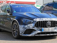 The 2021 Mercedes AMG E63 Caught In The Act